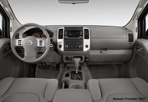 Nissan-Frontier-2017-steering-and-transmission