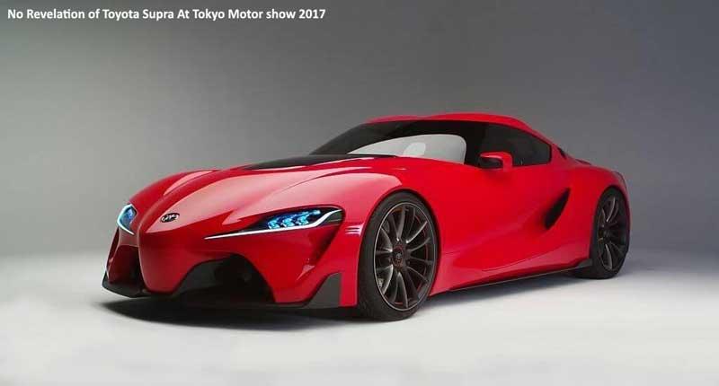 No-Revelation-of-Toyota-Supra-At-Tokyo-Motor-Show-2017