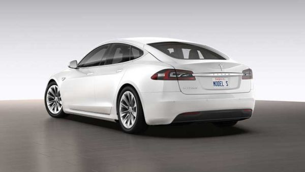 Tesla-S-75-D-Rear-View,-Release-in-Pakistan