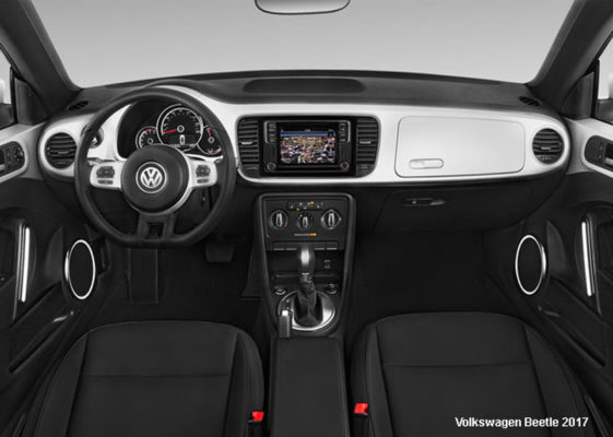 Volkswagen-Beetle-2017-steering-and-transmission