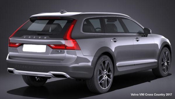 Volvo-V90-Cross-Country-2017-Back-image