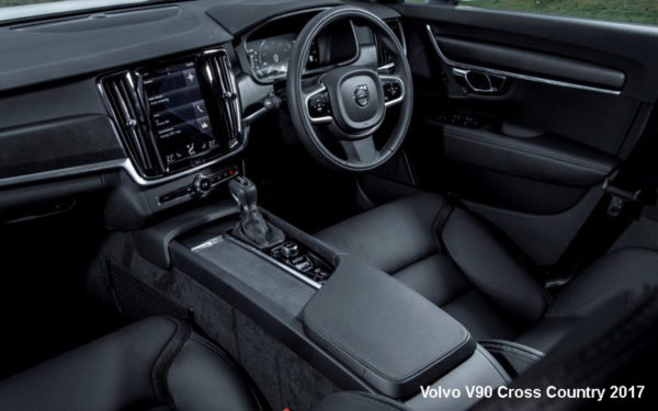 Volvo-V90-Cross-Country-2017-steering-and-transmission