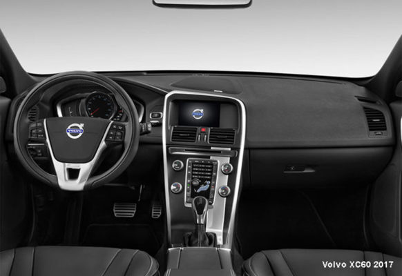 Volvo-XC60-2017-steering-and-transmission