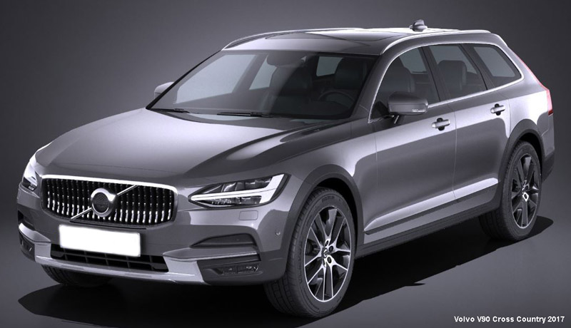 2017 Volvo V90 Cross Country Pricing And Features Revealed