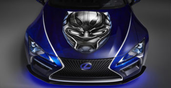 Lexus-LC500-Black-panther-front