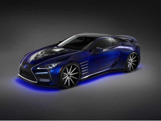 Lexus-LC500-Black-panther-full-view