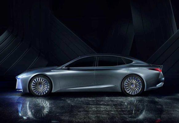 Lexus-LS-Plus-Concept-2017-side-view-Tokyo-Auto-Show