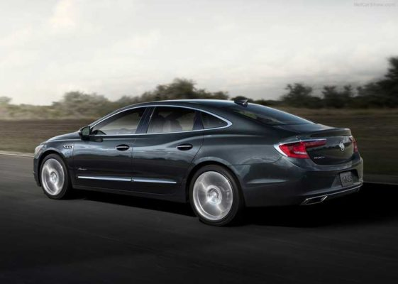 Upcoming-Buick-Lacrosse-Avenir-2018 rear-View