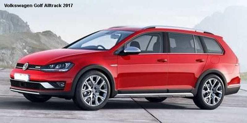 Volkswagen Golf Alltrack 1.8T SE DSG 2017 Price, Specification full