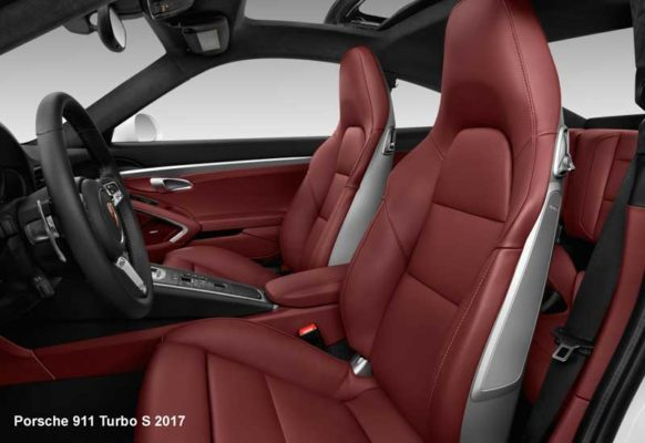 Porche-911-Turbo-S-2017-Front-seats