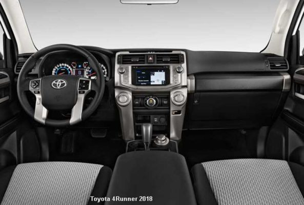 Toyota-4Runner-2018-steering-and-transmission