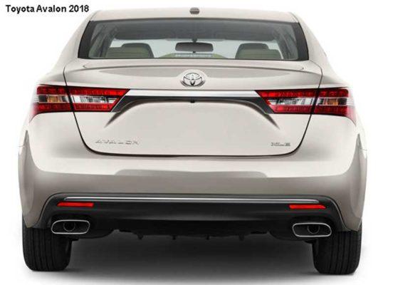 Toyota-Avalon-2018-back-image