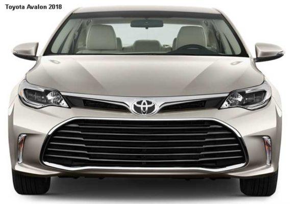 Toyota-Avalon-2018-front-image