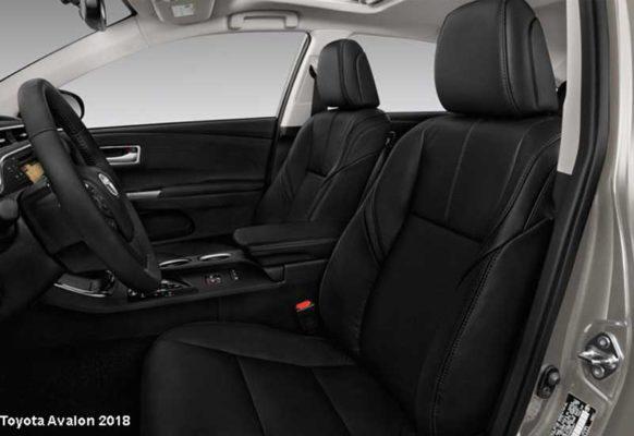 Toyota-Avalon-2018-front-seats
