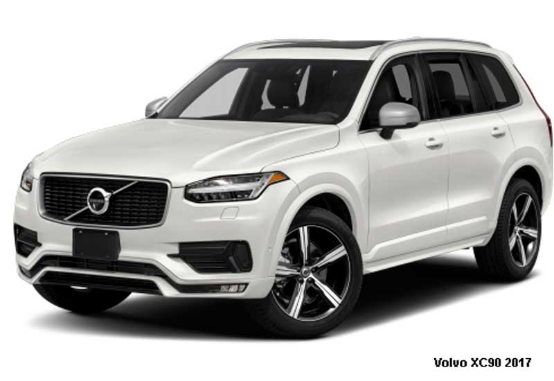 Volvo Xc90 T6 2017 Price Specifications Overview Fairwheels