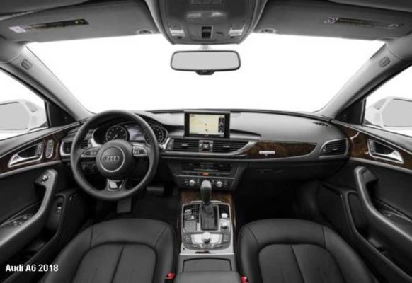 Audi-A6-2018-steering-and-transmission