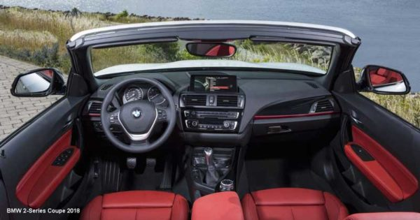 Bmw-2-series-coupe-2018-steering-and-transmission