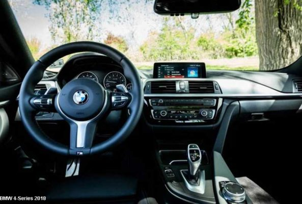 Bmw-4-series-2018-steering-and-transmission