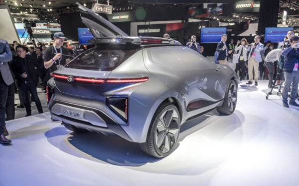 EV Concept Enverge Debuted by GAC China group for 2019 in USA 1