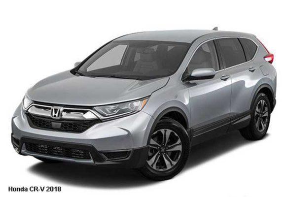 Honda-CR-V-2018-Front-image