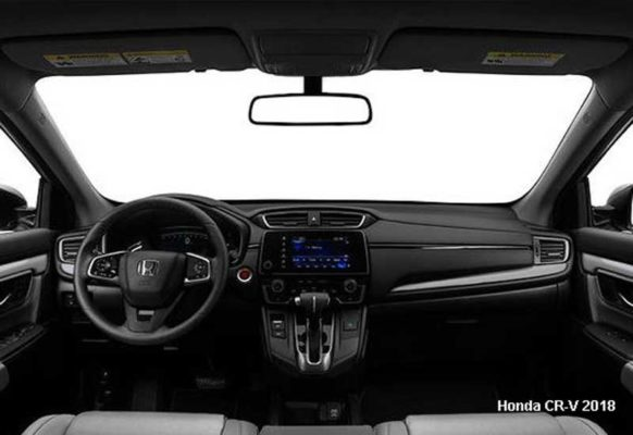 Honda-CR-V-2018-steering-and-transmission