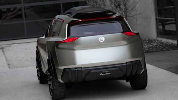 Nissan-Xmotion-Concept-Rear---Future-of-SUV's-Detroit-Auto-Show-2018