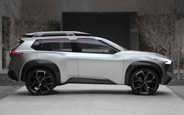 Nissan Xmotion Concept : Future of SUV's at Detroit Auto Show 2018 1
