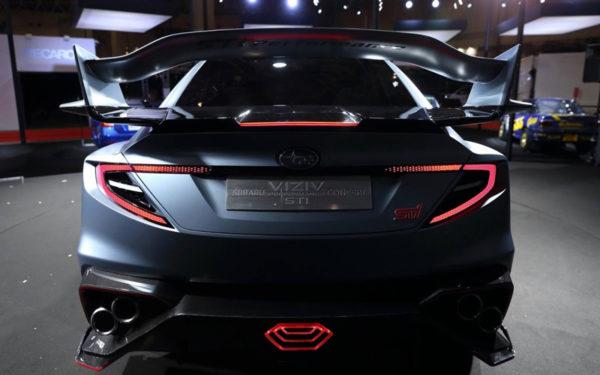 Subaru-Viziv-STI-Concept-Revelation-at-2018-Tokyo-auto-saloon-rear-view