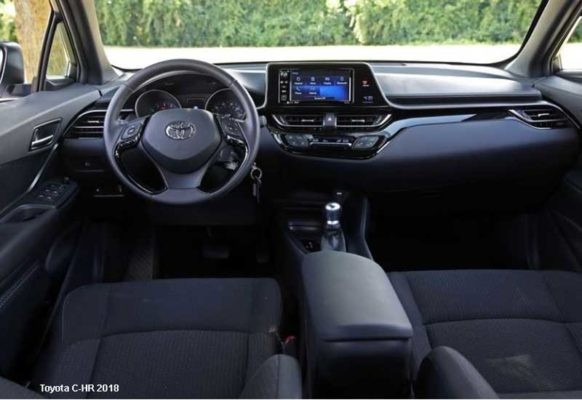 Toyota-C-HR-2018-steering-and-transmission