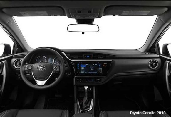 Toyota-Corolla-2018-steering-and-transmission