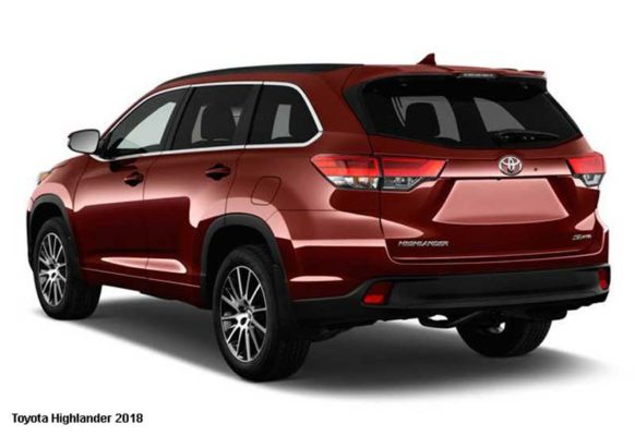 Toyota-Highlander-2018-back-image
