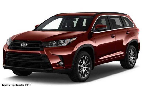 Toyota-Highlander-2018-front-image