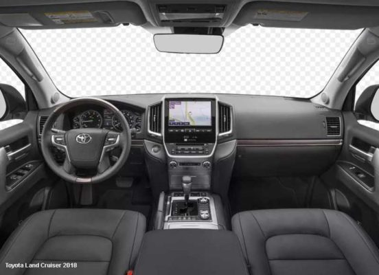 Toyota-Land-Cruiser-2018-steering-and-transmission