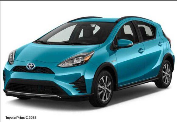 Toyota-Prius-C-2018-front-image