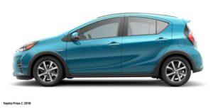 Toyota-Prius-C-side-image | Toyota Aqua G Hybrid