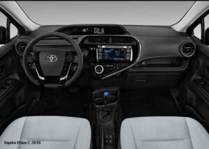Toyota-Prius-C--steering-and-transmission | Toyota Aqua G Hybrid