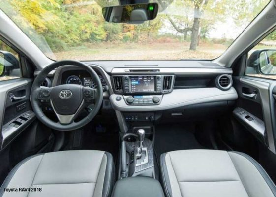 Toyota-RAV4-2018-steering-and-transmission