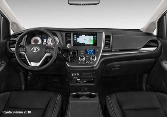 Toyota-Sienna-2018-steering-and-transmission