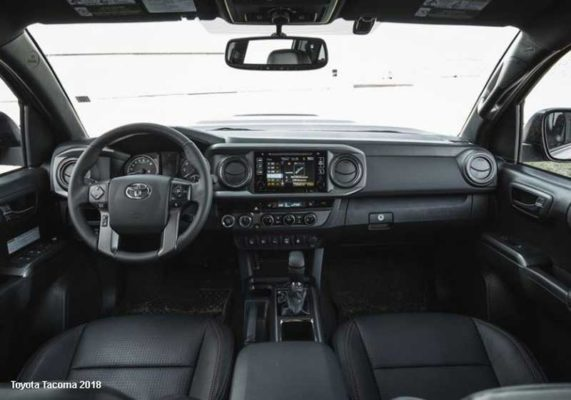 Toyota-Tacoma-2018-Steering-and-transmission