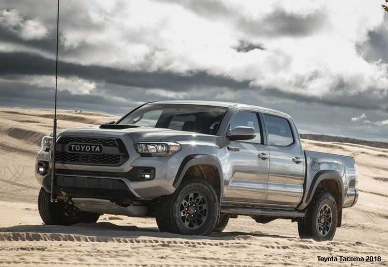 Toyota Tacoma Trd Sport Double Cab 6 Bed 4x4 At 2018