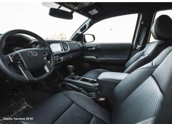 Toyota-Tacoma-2018-front-seats
