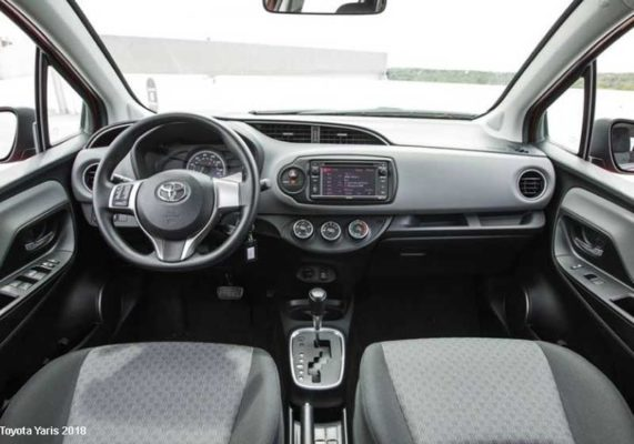 Toyota-Yaris-2018-steering-and-transmission