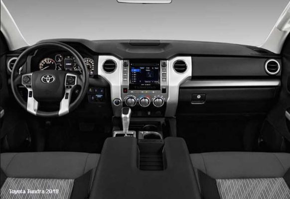 Toyota-tundra-2018-steering-and-transmission