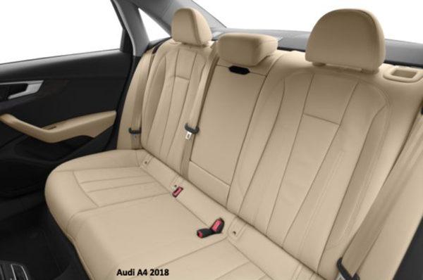Audi-A4-2018-back-seats