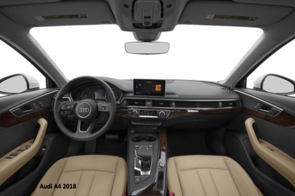 Audi-A4-2018-steering-and-transmission