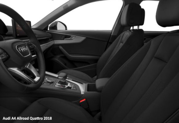 Audi-A4-Allroad-Quattro-2018-front-seats