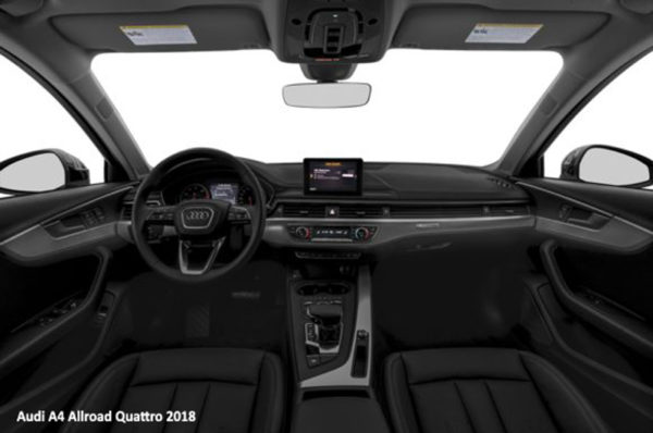 Audi-A4-Allroad-Quattro-2018-steering-and-transmission