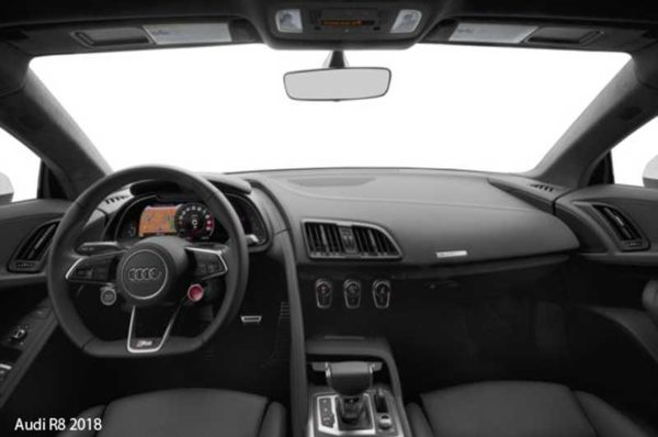 Audi-R8-2018-steering-and-transmission