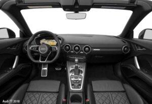 Audi-TT-2018-steering-and-transmission