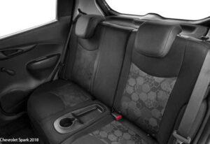 Chevrolet-Spark-2018-back-seats